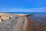 The Beach At Whitefish Point On The Greatest Of The Great Lakes, Lake Superior During Summer, Upper Peninsula, Michigan, USA