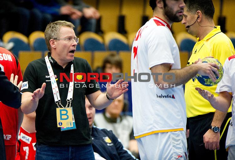 110124 Handboll, VM, Island - Spanien: Gudmundur Thor Gudmundsson, f&ouml;rbundskapten, Island.<br /> <br />  Foto &copy; nph / BildbyrĆn   56410