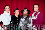 Regina Neilan, Michelle Murphy, Deanne Staak and Gemma Healy-Hilario at the Killarney musical society production of Calamity Jane in the INEC on Friday night