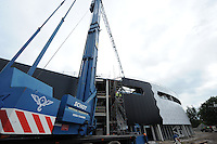 SCHAATSEN: HEERENVEEN: IJsstadion Thialf, 08-09-2015, Ver(nieuw)bouw, ©foto Martin de Jong