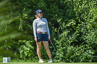 Morgan Pressel (USA) watches her tee shot on 17 during round 2 of the 2018 KPMG Women's PGA Championship, Kemper Lakes Golf Club, at Kildeer, Illinois, USA. 6/29/2018.<br /> Picture: Golffile | Ken Murray<br /> <br /> All photo usage must carry mandatory copyright credit (© Golffile | Ken Murray)