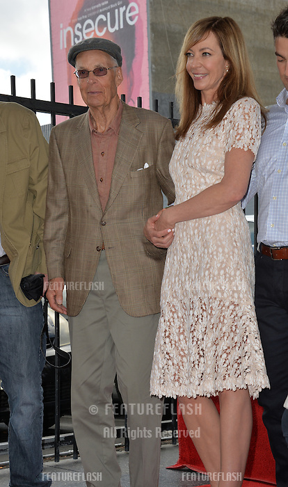 LOS ANGELES, CA. October 17, 2016: Jervis Spencer Janney &amp; Allison Janney at the Hollywood Walk of Fame Star ceremony honoring actress Allison Janney.<br /> Picture: Paul Smith/Featureflash/SilverHub 0208 004 5359/ 07711 972644 Editors@silverhubmedia.com
