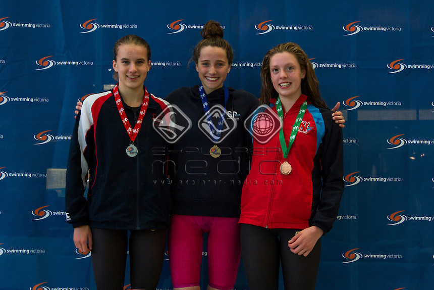 2017 Victorian Age Chanpionships- Day Two- Laura Davy, Aimee Green, Keilani Trewavis
