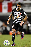 Orlando, FL - Saturday Jan. 21, 2017: Corinthians midfielder Gabriel(5) during the second half of the Florida Cup Championship match between São Paulo and Corinthians at Bright House Networks Stadium. The game ended 0-0 in regulation with São Paulo defeating Corinthians 4-3 on penalty kicks