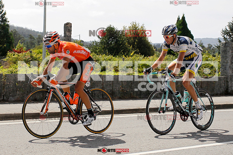 Ruben Perez (l) and Thomas De Gendt during the stage of La Vuelta 2012 between Vilagarcia de Arousa and Mirador de Erazo (Dumbria).August 30,2012. (ALTERPHOTOS/Paola Otero) /NortePhoto.com<br /> <br /> **CREDITO*OBLIGATORIO** <br /> *No*Venta*A*Terceros*<br /> *No*Sale*So*third*<br /> *** No*Se*Permite*Hacer*Archivo**<br /> *No*Sale*So*third*