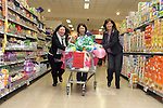 Máire McKenna from Ardcath who took part in the Supervalue Trolley Dash, pictured here with Nicola McComeskey of the Droichead Arts Centre and Supervalue Store Manager, Regina Foley..Photo NEWSFILE/Jenny Matthews.(Photo credit should read Jenny Matthews/NEWSFILE)....This Picture has been sent you under the condtions enclosed by:.Newsfile Ltd..The Studio,.Millmount Abbey,.Drogheda,.Co Meath..Ireland..Tel: +353(0)41-9871240.Fax: +353(0)41-9871260.GSM: +353(0)86-2500958.email: pictures@newsfile.ie.www.newsfile.ie.FTP: 193.120.102.198.