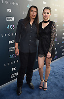 "LOS ANGELES, CA - APRIL 2: David Midthunder and Amber Midthunder attend the season two premiere of FX's ""Legion"" at the DGA Theater on April 2, 2018 in Los Angeles, California. (Photo by Frank Micelotta/FX/PictureGroup)"
