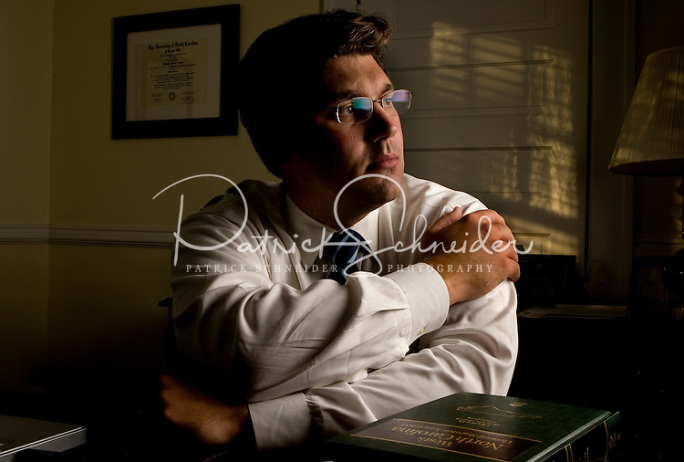 Portrait of an attorney in Charlotte, NC.