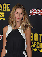 Dawn Olivieri at the premiere of &quot;Sabotage&quot; at Regal Cinemas L.A. Live.<br /> March 19, 2014  Los Angeles, CA<br /> Picture: Paul Smith / Featureflash