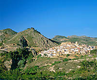 Spain, Costa Blanca, Planes: village upcountry in Gallinera Valley | Spanien, Costa Blanca, Planes: Ort im Landesinneren im Val de Gallinera