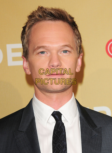 NEIL PATRICK HARRIS .at The 3rd Annual CNN Heroes: An All-Star Tribute held at The Kodak Theatre in Hollywood, California, USA,  November 21st 2009                                                                   .portrait headshot black tie white shirt .CAP/RKE/DVS.©DVS/RockinExposures/Capital Pictures