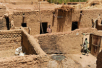 MALI, Bandiagara , clay buildings