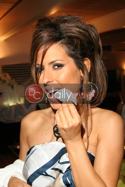 Kerri Kasem enjoys her snack<br /> at Maria Conchita Alonso's Surprise Birthday Party, Private Residence, Los Angeles, CA 06-25-05<br /> David Edwards/DailyCeleb.Com 818-249-4998<br /> EXCLUSIVE