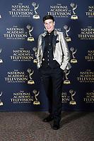 PASADENA - May 5: BJ Korros in the press room at the 46th Daytime Emmy Awards Gala at the Pasadena Civic Center on May 5, 2019 in Pasadena, California