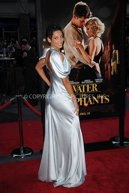 WWW.ACEPIXS.COM . . . . . .April 17, 2011...New York City... Nicole Murphy attends the 'Water For Elephants' premiere at the Ziegfeld Theatre on April 17, 2011 in New York City on April 17, 2011 in New York City....Please byline: KRISTIN CALLAHAN - ACEPIXS.COM.. . . . . . ..Ace Pictures, Inc: ..tel: (212) 243 8787 or (646) 769 0430..e-mail: info@acepixs.com..web: http://www.acepixs.com .