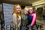 Emma O'Riordan, Caroline Spillane and Ashley Ferris  at the Makeup Masterclass with Jade Mullett in CH Chemists on Saturday