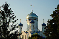 The Ukrainian Orthodox church in Uzhgorod