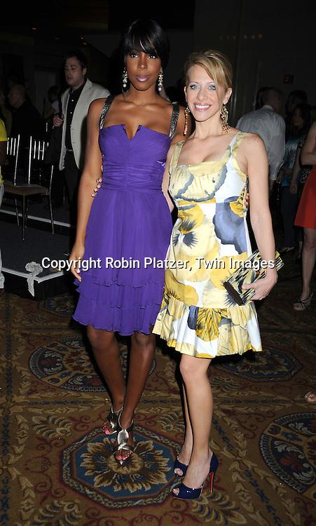 Kelly Rowland and Dina Manzo