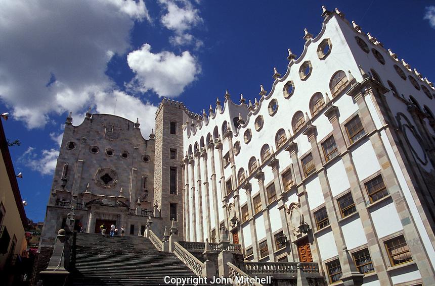 The Universidad de Guanajuato in the city of Guanajuato, Mexico