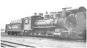 3/4 engineer's-side view of D&amp;RGW #360 alongside a standard gauge engine in the Salida yard.<br /> D&amp;RGW  Salida, CO  Taken by Ward, Bert H. - 7/12/1946
