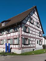 Hermann Hesse Museum Gaienhofen am Bodensee, Baden-W&uuml;rttemberg, Deutschland, Europa<br /> Hermann Hese Museum  in Gaienhofen at lake Constance, Baden-W&uuml;rttemberg, Germany, Europe