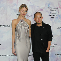 05 June 2019 - New York, New York - Martha Hunt and Jason Wu. 2019 Fragrance Foundation Awards held at the David H. Koch Theater at Lincoln Center. Photo Credit: LJ Fotos/AdMedia