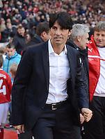 FUSSBALL   1. BUNDESLIGA  SAISON 2012/2013   9. Spieltag   VfB Stuttgart - Eintracht Frankfurt      28.10.2012 Sportdirektor Bruno Huebner (Frankfurt)