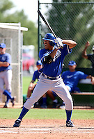 Adrian Ortiz / Kansas City Royals 2008 Instructional League..Photo by:  Bill Mitchell/Four Seam Images