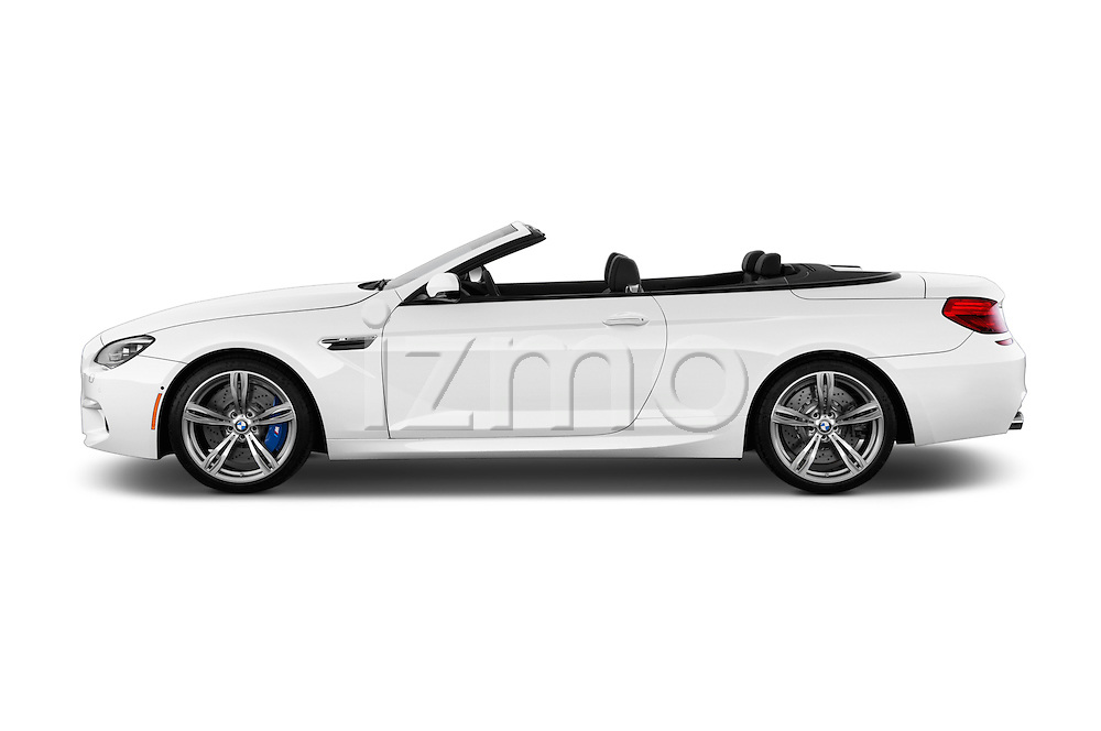 Driver side profile view of a 2014 BMW M6 Convertible