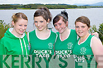St Brendan's rowers at the Killarney Regatta on Sunday l-r:Sinead Moynihan, Fiona Tangney, Sinead Higgins and Clodagh O'Sullivan ..