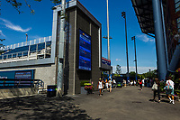 NEW YORK, USA - August 22 : general view of the US Open fa area on August 22, 2019 in New York, USA.<br /> People attend US Open the fan week with Featured practice matches with Roger Federer and Novak Djokovic <br /> (Photo by Luis Boza/VIEWpress)