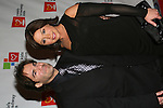 Rachel Ray & hubby John at the Rosie's For All Kids Foundation and Rosie's Broadway Kids were created because of Rosie's love of children and the knowledge that one person can make a difference in the life of a child on Nov. 24. 2008 at the New York Marriott Marquis, NYC, (Photo by Sue Coflin/Max Photos)