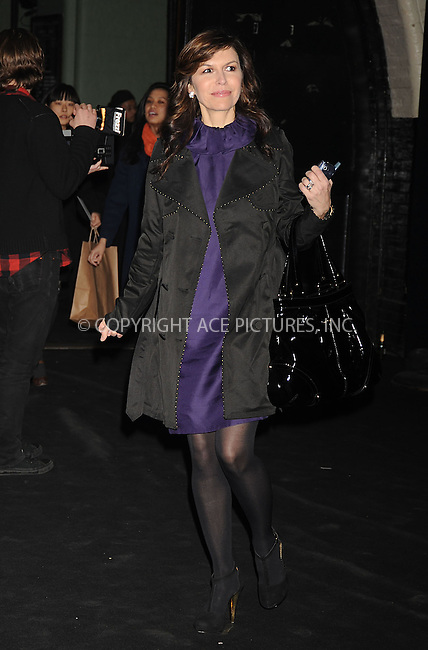 WWW.ACEPIXS.COM . . . . .  ....February 8 2008, New York City....Finola Hughes arriving at the Marc Jacobs Fall 2008 fashion show during Mercedes-Benz Fashion Week Fall 2008 at the New York State Armory on Lexington Avenue in midtown Manhattan....Please byline: KRISTIN CALLAHAN - ACEPIXS.COM..... *** ***..Ace Pictures, Inc:  ..te: (646) 769 0430..e-mail: info@acepixs.com..web: http://www.acepixs.com