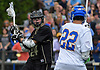 John Schreiber of Iona Prep, left, gets ready to make a pass during the CHSAA varsity boys lacrosse Class AA Intersectional Final against host Kellenberg High School on Friday, May 26, 2017.