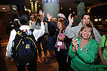 29 MAR 2012: The team arrivals as part of the festivities surrounding the Women's Final Four held in Denver, CO. Stephen Nowland/NCAA Photos
