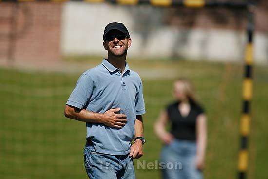 Rob Wilson. at Nathaniel's soccer game; 5.19.2007