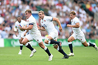Jack Singleton of England goes on the attack. Quilter Cup International match between England and the Barbarians on May 27, 2018 at Twickenham Stadium in London, England. Photo by: Patrick Khachfe / Onside Images