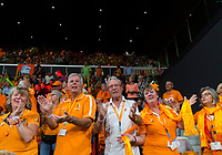 The Hague, The Netherlands, September 17, 2017,  Sportcampus , Davis Cup Netherlands - Chech Republic, Dutch supporters<br /> Photo: Tennisimages/Henk Koster