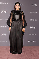 LOS ANGELES, CA - NOVEMBER 04: Soko at the 2017 LACMA Art + Film Gala Honoring Mark Bradford And George Lucas at LACMA on November 4, 2017 in Los Angeles, California. <br /> CAP/MPI/DE<br /> &copy;DE/MPI/Capital Pictures