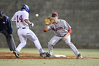 March 9, 2010:  First Baseman Zach Amrein of the Illinois State Redbirds during a game at McKethan Stadium in Gainesville, FL.  Photo By Mike Janes/Four Seam Images