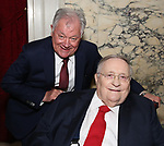 """Robert Wankel and Phillip J. Smith during The """"Mr. Abbott"""" Award 2019 at The Metropolitan Club on 3/25/2019 in New York City."""