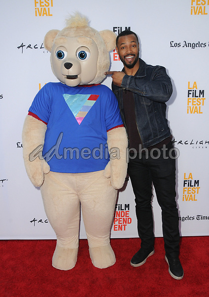 "16 June 2017 - Hollywood, California - Brigsby Bear, Isaiah Mustafa. LA Film Festival screening of ""Brigsby Bear"" held at ArcLight Hollywood in Hollywood. Photo Credit: Birdie Thompson/AdMedia"