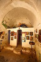Interior of Ayii Theodori, Paliachora,
