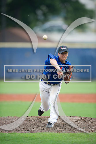 Team One South Showcase presented by Baseball Factory at Chappell Park on July 14, 2012 in Atlanta, Georgia.  (Copyright Mike Janes Photography)