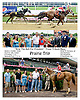 """Prairie Trip winning The """"Ring the Bell for Freedom"""" Troop Tribute Race at Delaware Park on 7/3/14"""