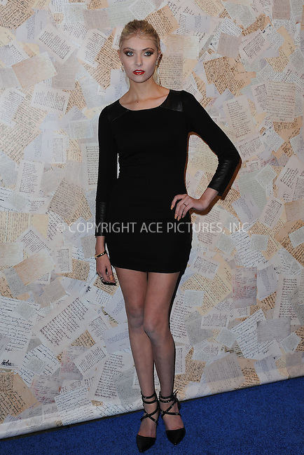 WWW.ACEPIXS.COM<br /> September 9, 2013 New York City<br /> <br /> Taylor Momsen attending Alice + Olivia by Stacey Bendet Presentation during Spring 2014 Mercedes Benz Fashion Week at Highline Stages in New York City on September 9, 2013.<br /> <br /> By Line: Kristin Callahan/ACE Pictures<br /> ACE Pictures, Inc.<br /> tel: 646 769 0430<br /> Email: info@acepixs.com<br /> www.acepixs.com<br /> Copyright:<br /> Kristin Callahan/ACE Pictures