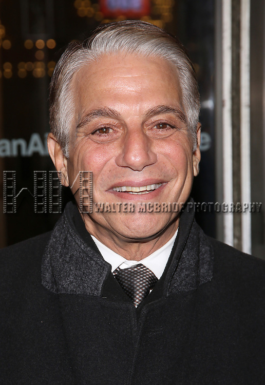 "Tony Danza attends the Broadway Opening Night performance of Roundabout Theatre Production  of ""The Price"" at the American Airlines TheatreTheatre on March 16, 2017 in New York City."