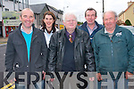 Barraduff Community Field Organisation are asking the public to come up with ideas to develop a local amenity for the community in unused land near the village. .Front L-R PRO Barth Warren, Chairman Tadhg O'Donoghue and Vice Chairman Pa Riordan.Back L-R Maureen O' Neill of SKDP and Secretary Liam Warren.