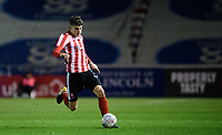 Lincoln City U18's Gianluca Bucci<br /> <br /> Photographer Chris Vaughan/CameraSport<br /> <br /> The FA Youth Cup Second Round - Lincoln City U18 v South Shields U18 - Tuesday 13th November 2018 - Sincil Bank - Lincoln<br />  <br /> World Copyright © 2018 CameraSport. All rights reserved. 43 Linden Ave. Countesthorpe. Leicester. England. LE8 5PG - Tel: +44 (0) 116 277 4147 - admin@camerasport.com - www.camerasport.com