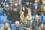 Hoffenheims Kerem Demirbay (Nr.10) mit seiner Frau beim Spiel in der Fussball Bundesliga, TSG 1899 Hoffenheim - VfL Wolfsburg.<br /> <br /> Foto &copy; PIX-Sportfotos *** Foto ist honorarpflichtig! *** Auf Anfrage in hoeherer Qualitaet/Aufloesung. Belegexemplar erbeten. Veroeffentlichung ausschliesslich fuer journalistisch-publizistische Zwecke. For editorial use only.